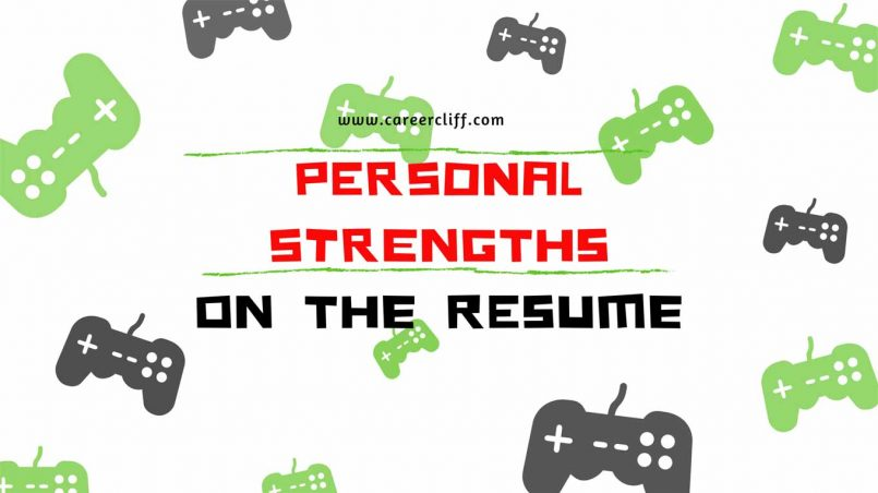 personal strengths skills hobbies in resume for workplace