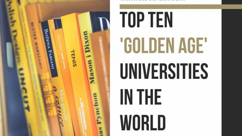 best-golden-age-universities-in-the-world-ranking