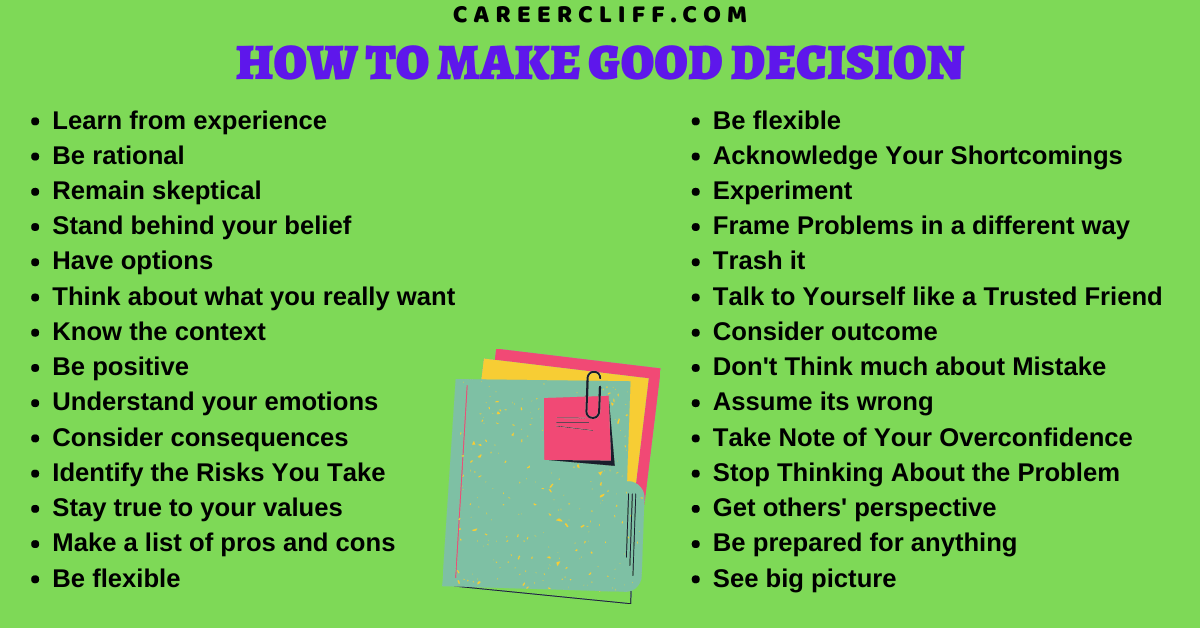 how to make good choices how to make good decisions in life how to make the best decision for yourself how to become a better decision maker how good is your decision making how to make good choices in life how to become a good decision maker how to make great decisions how to make best decision how to be a good decision maker in life how to become better at decision making how do you make good decisions how to make good life choices how make good decisions how to make the best choice how to be good in decision making how to be good at making decisions how to make good decision