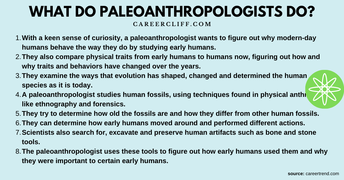 paleoanthropologist salary paleoanthropology jobs paleoanthropology colleges paleoanthropology degree paleoanthropology internships paleoanthropology graduate programs paleoanthropology courses paleoanthropology phd what can you do with a paleoanthropology degree fun facts about paleoanthropology paleoanthropology glossary smithsonian teaching evolution introduction to the origins of man human origins facts detailed lesson plan about human evolution phd in paleoanthropology where do primatologists work palaeoanthropology paleontologist salary forensic anthropology biological anthropology jobs wiki physical anthropologists physical anthropology salary biological anthropology jobs salary physical anthropology magazine ppa paleopathology paleontology jobs list paleontology jobs salary paleontology jobs usa paleontological field technician paleontology jobs europe paleontology jobs australia biological anthropology research jobs careers in linguistic anthropology biological anthropology jobs canada careers in biological anthropology biological anthropology jobs uk