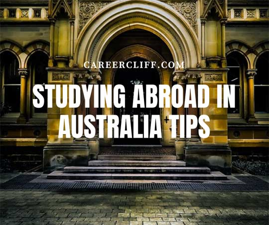 studying abroad in australia tips