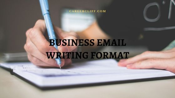 professional email writing examples