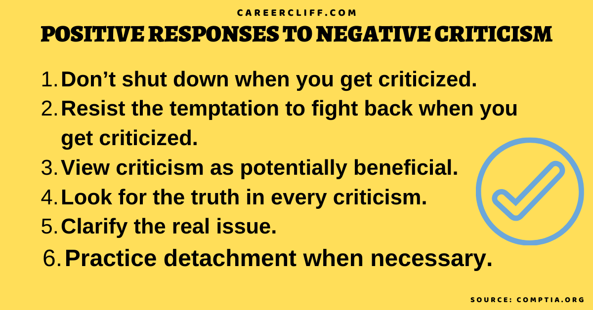 sample letter response to criticism responding to criticism quotes examples of negative criticism at work how to respond to criticism at work how to deal with negative criticism how to respond to negative comments negative criticism meaning reaction to criticism comments sample letter response to criticism examples of negative criticism at work how to deal with negative criticism response to critics why do we have critics negative criticism in relationships criticism examples types of criticism in literature constructive criticism meaning in hindi descriptive criticism effects of criticism criticism plural how does criticism make or break you how to respond to criticism at work how to respond to criticism email why do we have critics? how can you politely criticize someone? how can you effectively deal with criticism? negative criticism example negative criticism examples examples of destructive criticism constructive criticism in tagalog facing criticism how to handle criticism in team project how to handle criticism interview question negative criticism synonym negative criticism is generally negative criticism quotes what is constructive criticism why is it important to develop self-esteem? negative criticism example destructive criticism examples example of criticism examples of positive and negative criticism accepting the kind of criticism that can help how to handle destructive criticism how to deal with criticism from family comebacks for criticism sample letter response to criticism examples of negative criticism at work response to critics unfair criticism at work phrases to respond to criticism effects of constant criticism at work criticism at work examples destructive criticism in the workplace acceptance of criticism example how to reply criticism how to accept compliments and criticism i don t take criticism very well what is the best way to receive criticism how to handle criticism at work how to take criticism without crying how to handle criticism 
