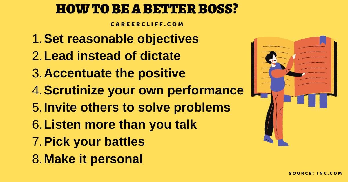 how to be a better boss how to be a better boss book how to become a better boss how to be a better boss at work