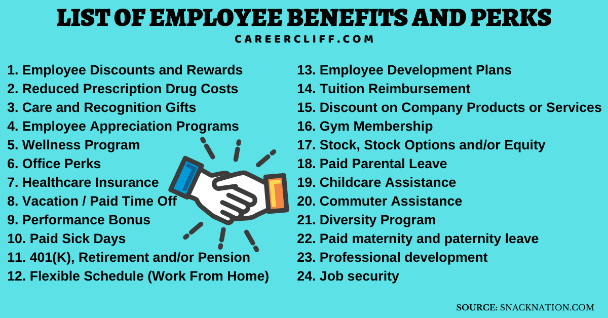 list of employee benefits and perks list of employee benefits & employee discount list amazon employee discount list starbucks employee discount list top 10 employee benefits companies company employee benefits list top 20 employee benefits & perks for 2021 top 20 employee benefits & perks for 2021 employee perks top 10 employee benefits types of employee benefits unique employee benefits innovative employee perks how important are benefits to employees best employee perks 2021 employee benefits package example at&t employee discount list
